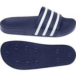Adidas Men's Adilette Blue-White
