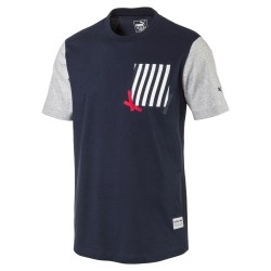 Puma Men's RBR Concept Tee Total Eclipse