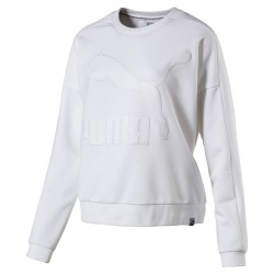 Puma Women's Classic Structured TT CrewWhite