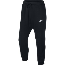 Nike Men's NSW Jogger Club FLC Black-White