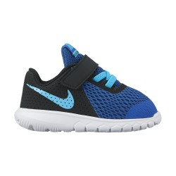Nike Infants Flex Experience 5 Blue Jay-Blue Fury-Black-White