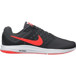 Nike Downshifter 7 Dark Grey - Total Crimson - Anth