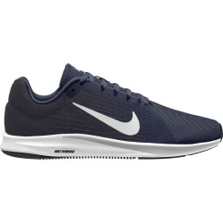 Nike Men's Downshifter 8 Midnight Navy-White-Dark Obsidian-Black