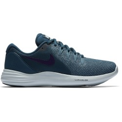 Nike Women's Lunar Apparent Space-Blue-Ink-Cerulean