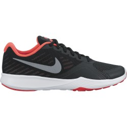 Nike Women's City Trainer Black-Metalic Cool-Grey Sola