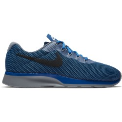 Nike Men's Tanjun Racer Blue Jay-Black-Wolf Grey