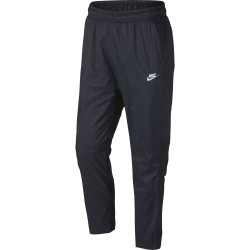 Nike Men's Pant OH Woven Core Track Dark Obsidian-White