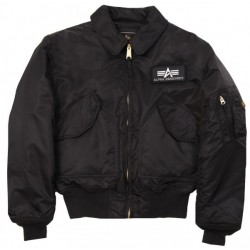 Alpha Flight Jacket CWU45 Black