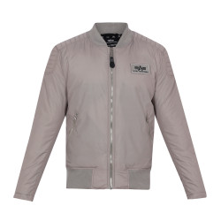Alpha Industries Speedway JKT - New Silver