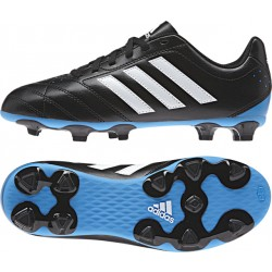 Adidas Boy's Golletto V FG Black-White-Solblu
