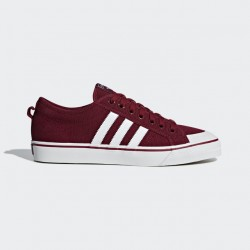 Adidas Men's Nizza Burgandy White