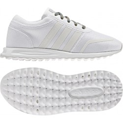 Adidas Boy's Los Angeles White-White