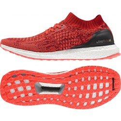 Adidas Men's Ultra Boost Uncage Fiery-Red-White