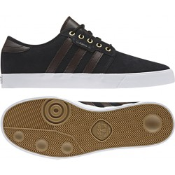 Adidas Men's Seeley Black-Brown-White