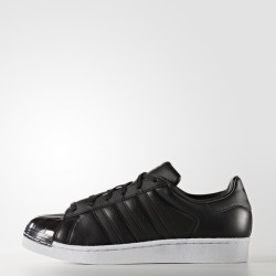Adidas Women's Superstar Metal Black-Black