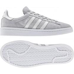 Adidas Youth Campus Greone-FtwWhite