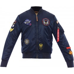 Alpha Industries MA-1 D.I.Y - Replica Blue