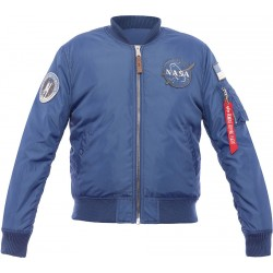 Alpha Industries MA-1 Nasa RP - Blue