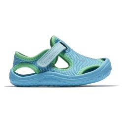 Nike Infants Sunray Protect Still Blue-Chlorine Blue-Electro Green