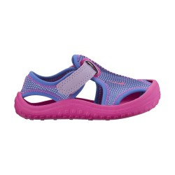 Nike Infants Sunray Protect Hydrangeas-Fire Pink-Comet Blue