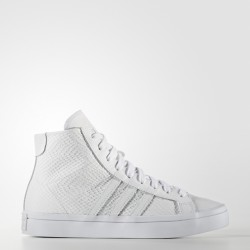 Adidas Women's Courtvantage Mid White-White