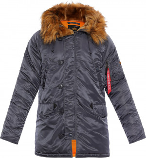 Alpha Industries N3BVF Parka - Steel Blue