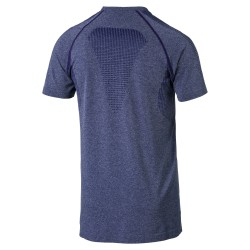 Puma Men's Evaknit Basic Tee Blue Depths Heather