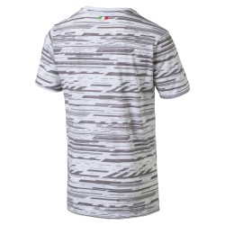 Puma Men's SF Graphic AOP Tee White