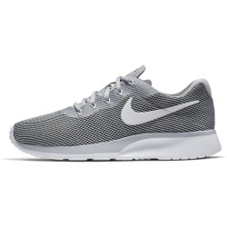 Nike Men's Tanjun Racer Wolf Grey-White-Black