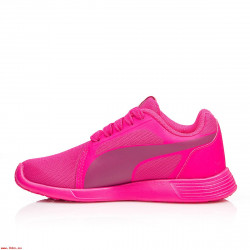 Puma Girl's Trainer Evo PS Pink-Pink