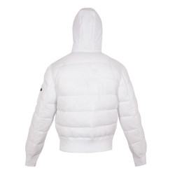 Alpha Industries Apollo 11 Puffer Hoody - White