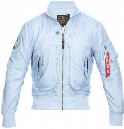 Alpha Prop Jacket - Silver Blue