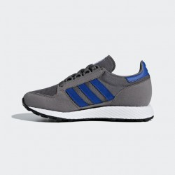 Adidas Women's Forest Grove Grey Four - Collegiate Royal - Ftwr White