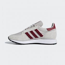 Adidas Men's Forest Grove Beige - Ftwr White