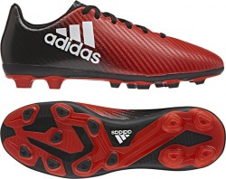 Adidas Boy's X 16.4 FxG Red-White-Black