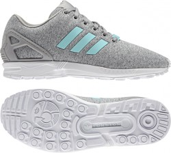 Adidas Women's ZX Flux MGrey-Mint-White