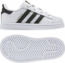 Adidas Infant's Superstar White-Black
