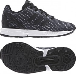 Adidas Boy's ZX Flux EL Black