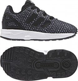 Adidas Infant's ZX Flux EL Black