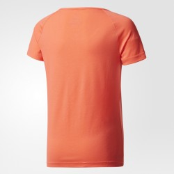 Adidas Girl's Prime Tee Easy Coral