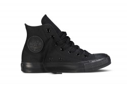 All Star Infants Hi Mono Black