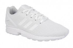 Adidas Boy's ZX Flux White-White