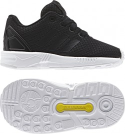 Adidas Infant's ZX Flux Black-White
