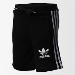 Adidas Boy's CLFN FT Short Black-White