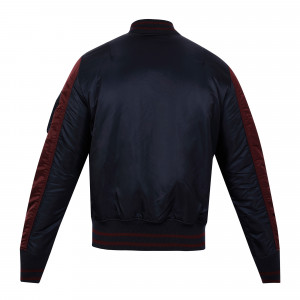 Alpha Industries Ma-1 Varsity Reversible - Navy/Maroon
